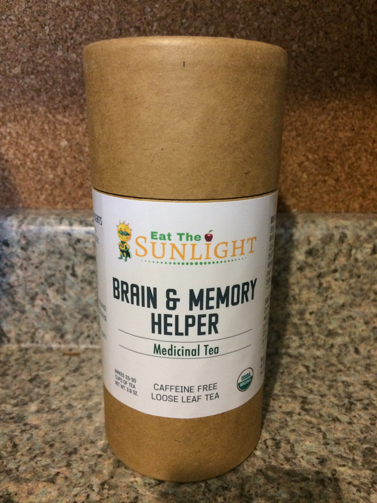 Brain & Memory Helper Tea - 1 Mo Supply (20% Off)
