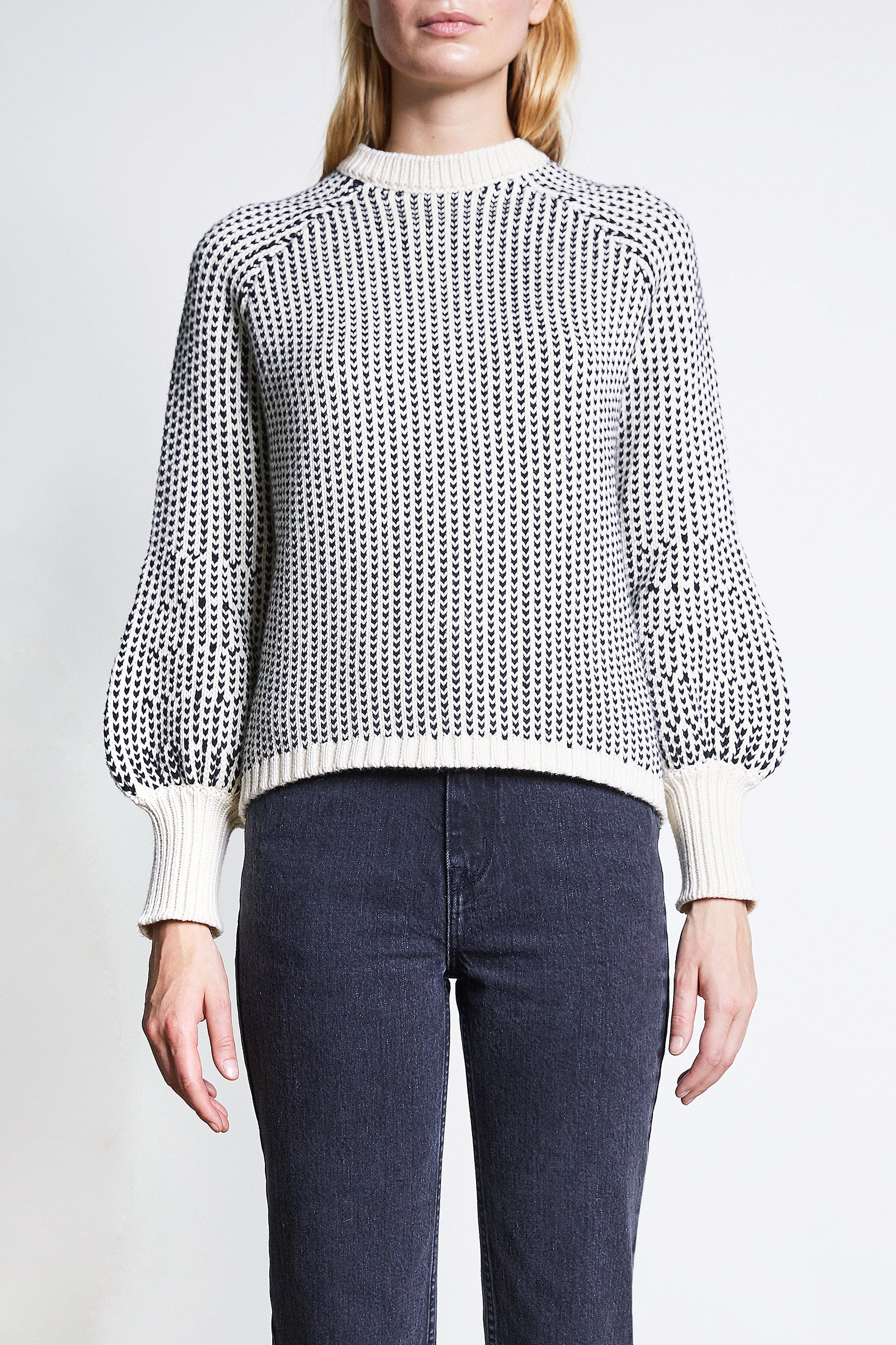Apiece Apart CREW SEQUOIA Sweater