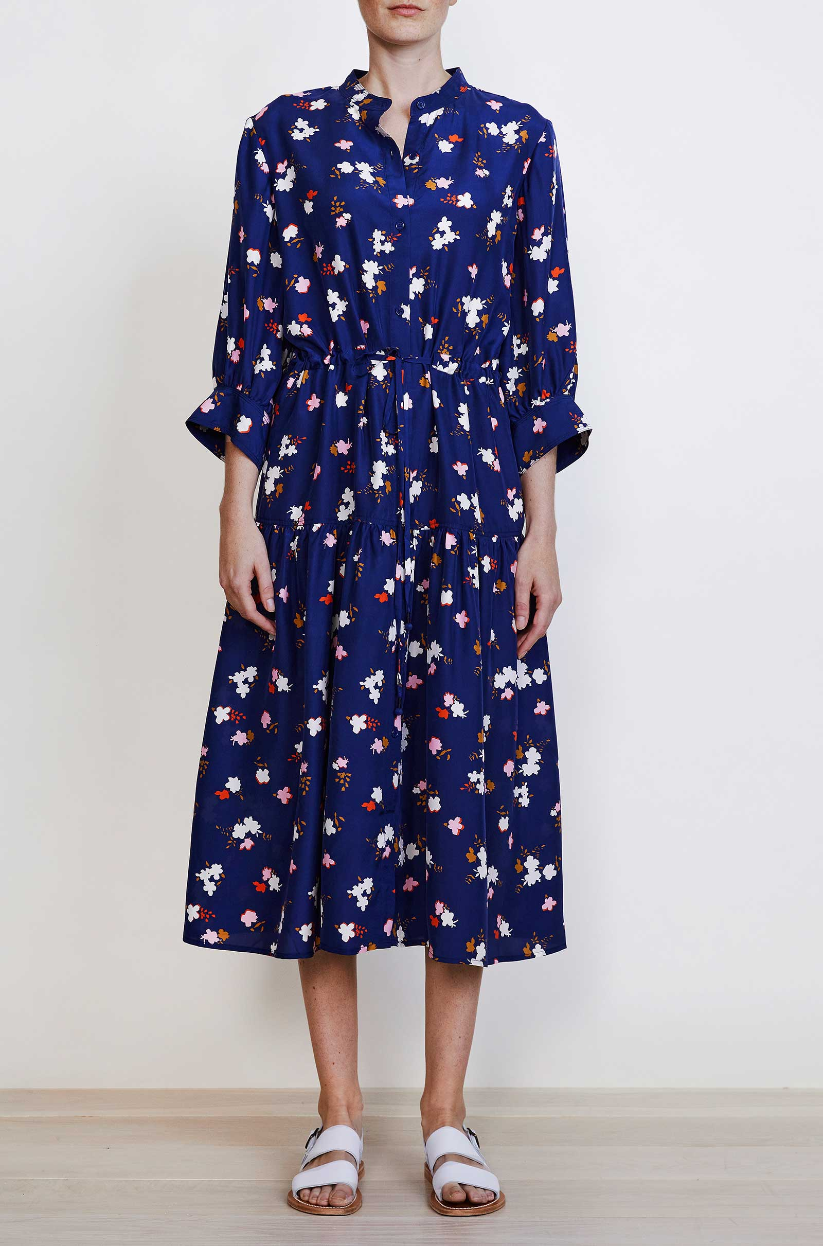 Navy Aster Floral