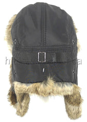 Rabbit Fur Original Trapper Hat Brown Photo - Royal Fur