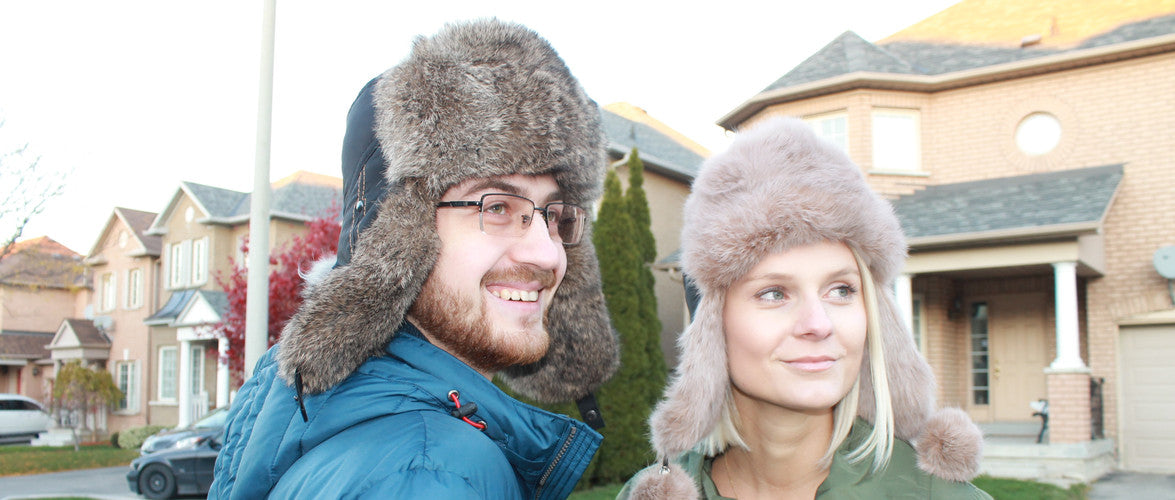 Fur Hats Colage - Photo by Royal Fur