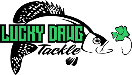 SPOTTED PERCH FLY TIED TUNGSTEN JIG - GLOW – Lucky Dawg Tackle