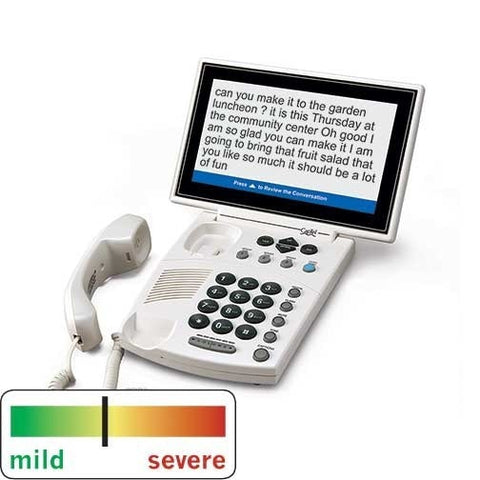 CapTel 880i Captioned Phone - The Phone Resource - 1