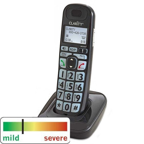 Clarity D703HS Amplified Phone Expansion Handset - The Phone Resource - 1
