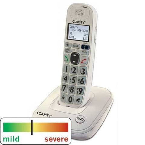 Clarity D704 DECT 6.0 Amplified Cordless Phone - The Phone Resource - 1