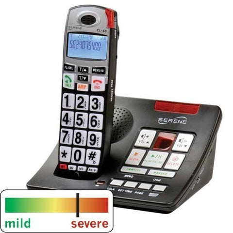 Serene Innovations CL-60A Amplified Phone - The Phone Resource - 1