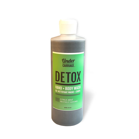 Detox Hand + Body Wash & De-Stinker – Citrus Mint