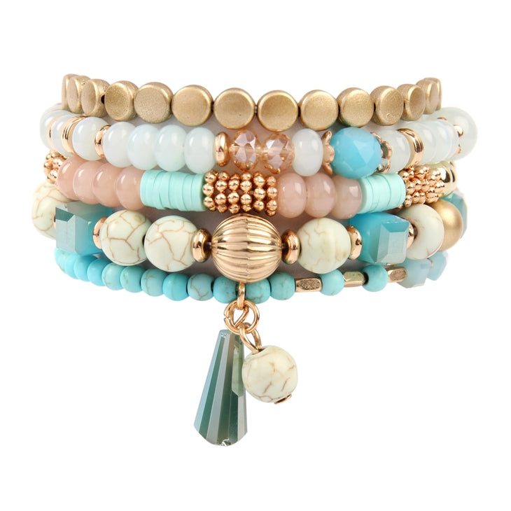 Multibeads Stretch Bracelet