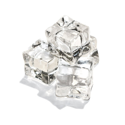 Acrylic Ice Cubes Clear 12 Pack - SnowSouq.com by Desert Snow