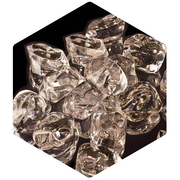 Acrylic Ice Nuggets 25 Pack - SnowSouq.com by Desert Snow