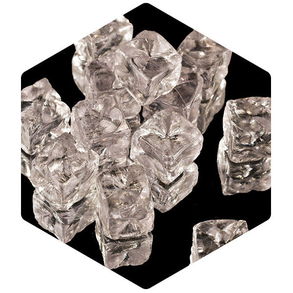 Acrylic Ice Cubes Opaque 12 Pack - SnowSouq.com by Desert Snow