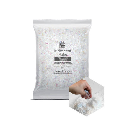 Iridescent Flake 500g - SnowSouq.com by Desert Snow