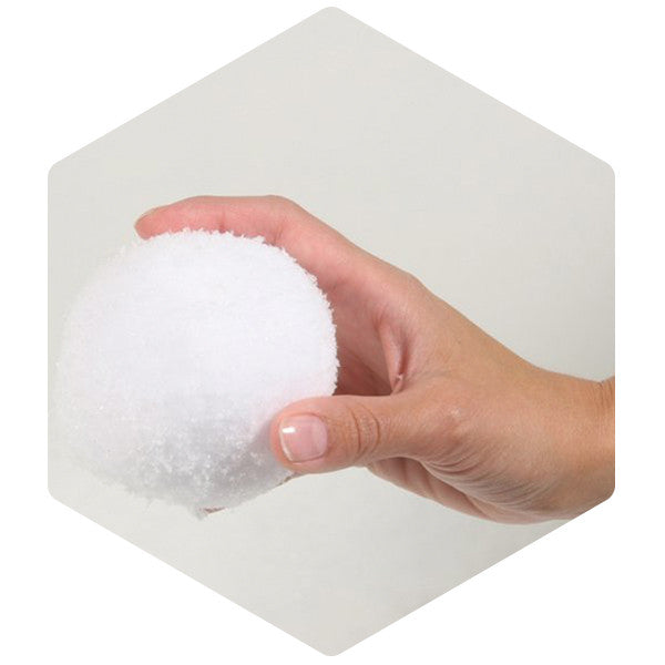 Soft Throwable Snowballs Pack of 12 - SnowSouq.com by Desert Snow