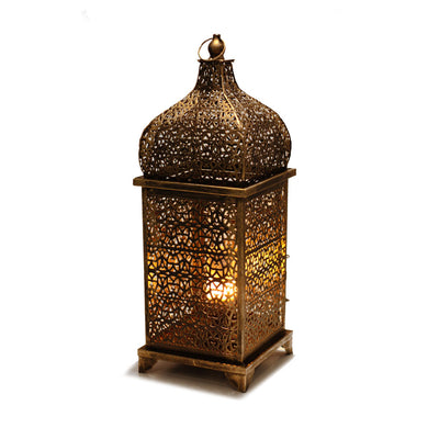 Arabic Lantern with Firelamp