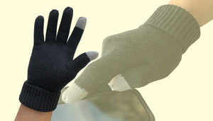 Merino Wool Seamless Gloves Men Women