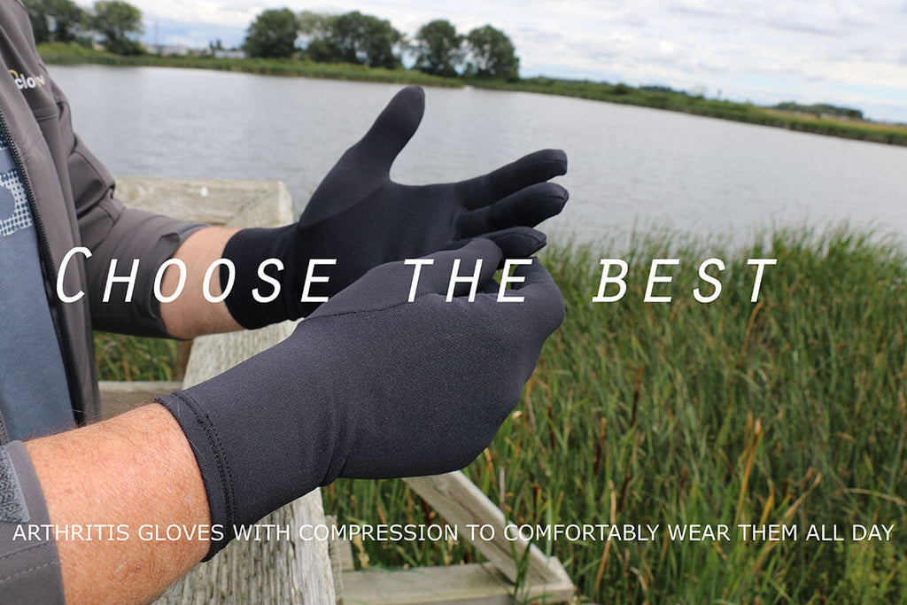 Arthritis Gloves with Compression Best Choice