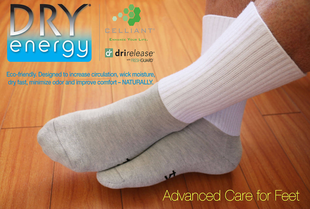 Diabetic Socks Raynaud's, Cold Feet, Vascular Impairment – Dry Energy