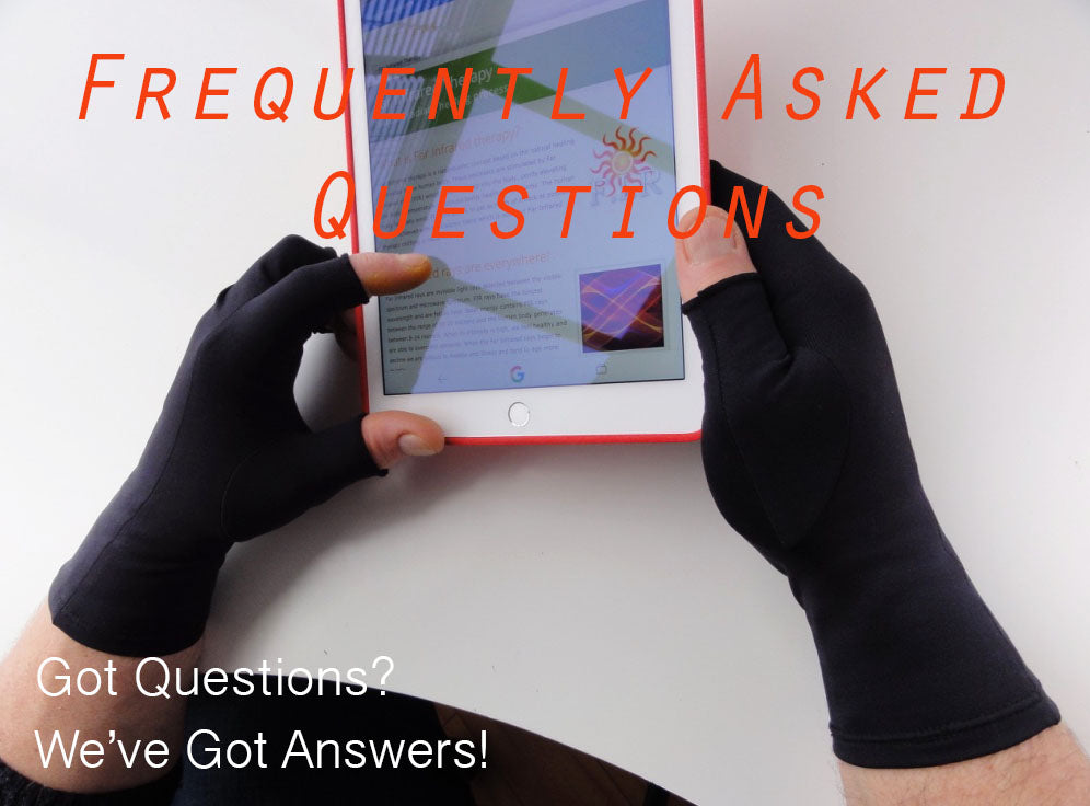 Frequently Asked Questions for Therapy Gloves and Body Products