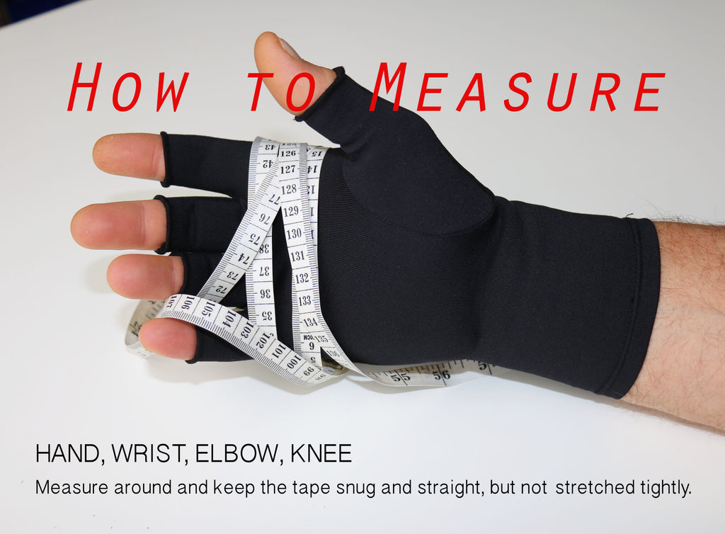 Measuring Guide for Therapy Gloves and Body Products