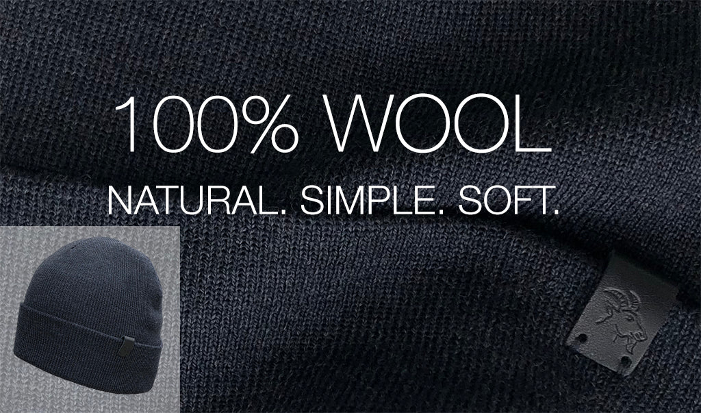Merino Wool Beanie 100% Pure Wool