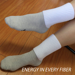 Infrared Dry Energy Socks MedCrew White - Gloves for Therapy by Veturo