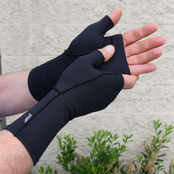 Infrared Fingerless Mitten Gloves Joints & Muscle Support