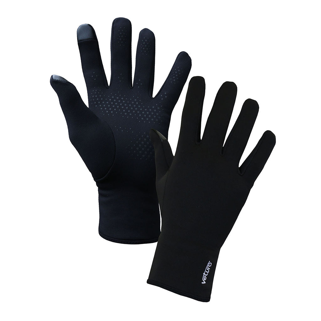 Infrared Fleece Gloves Grip Touchscreen - Gloves for Therapy by Veturo