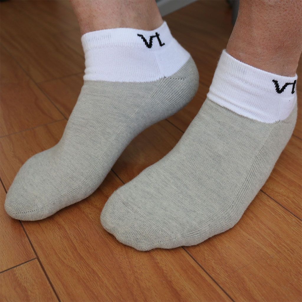 Infrared Ankle Socks Recovery with Dry Energy - Gloves for Therapy by Veturo