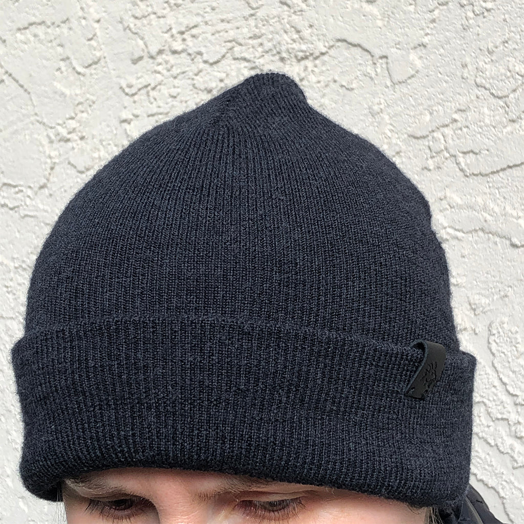 Merino Wool Cuffed Beanie Unisex - Gloves for Therapy by Veturo