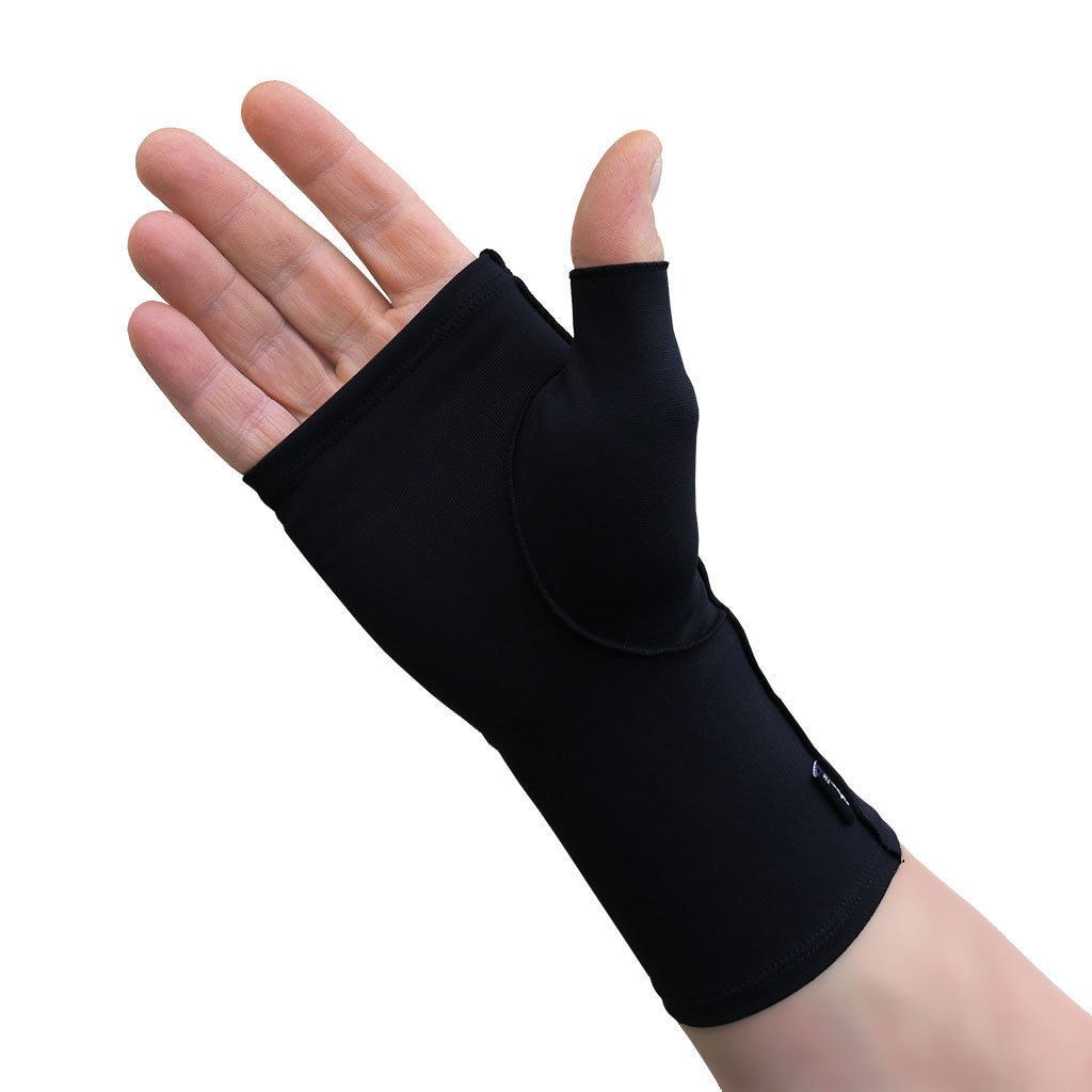 Infrared Fingerless Mitten Gloves - Hand & Wrist Support - Gloves for Therapy by Veturo