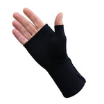 Infrared Fingerless Mitten Gloves Arthritis CTS Wrist Support - Gloves for Therapy by Veturo
