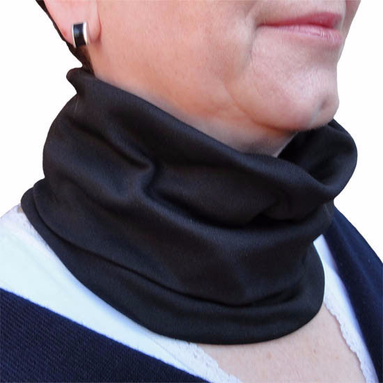 Infrared Therapy Tube Scarf, Black