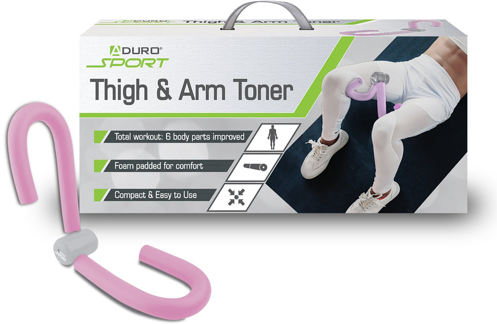 Aduro Sport Thigh Toner Workout Equipment, Arm Home Workout Leg Exercise