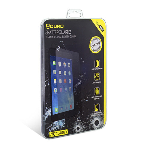 SHATTERGUARDZ Tempered Glass Screen Protector: iPad Mini
