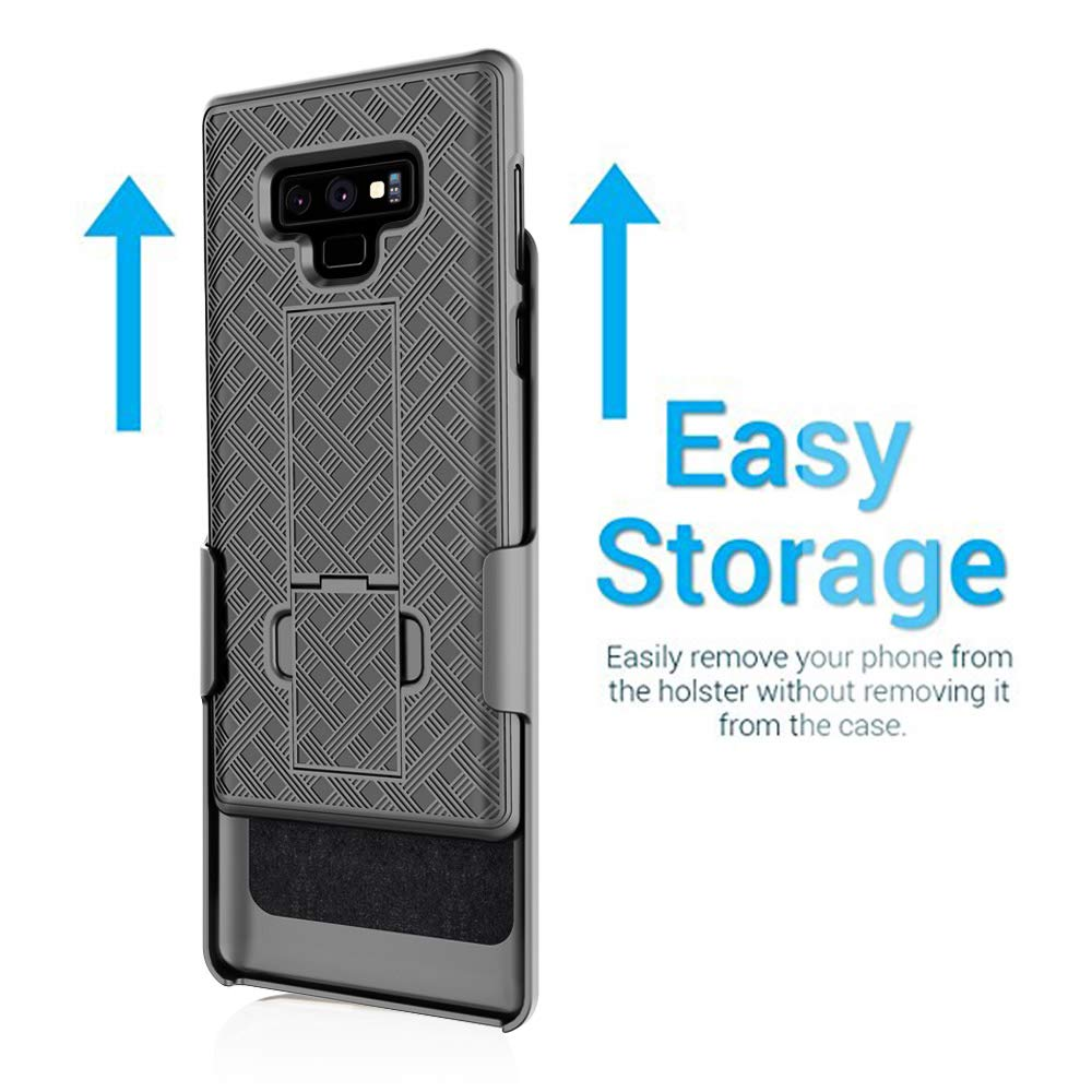 Aduro Samsung Galaxy Note 9 Belt Clip Holster Case