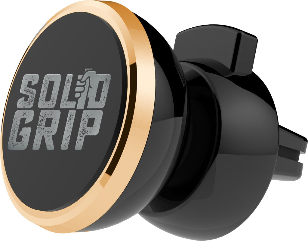 Aduro Solid Grip Magnetic Car Vent Phone Mount for iPhone & Android