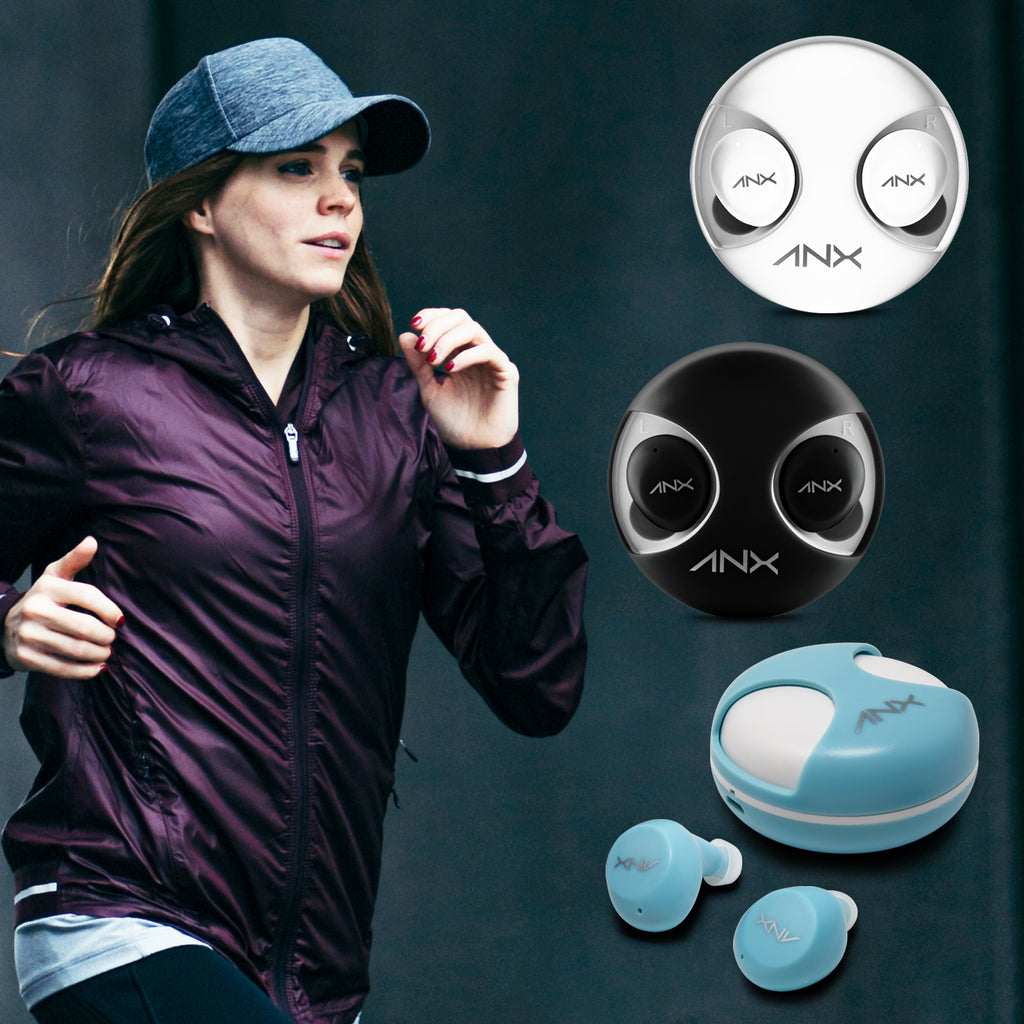 Aduro Twist True Wireless Earbuds w/ Charging Case