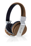 ANX Pop Soul Leather Wireless Bluetooth Foldable Headphones Built-in microphone