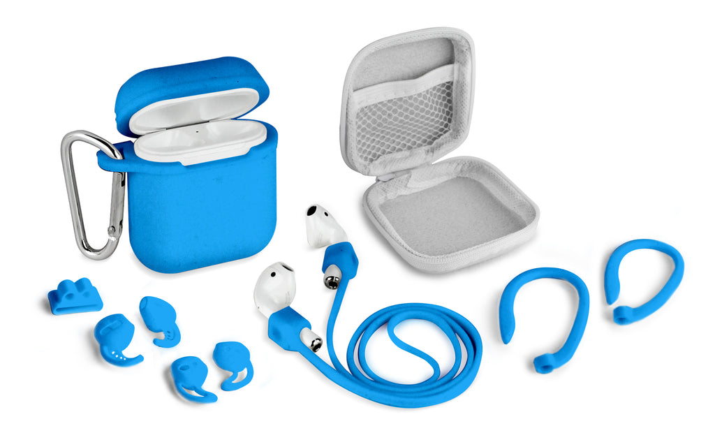 Aduro 8 Piece Accessory Bundle for Airpods