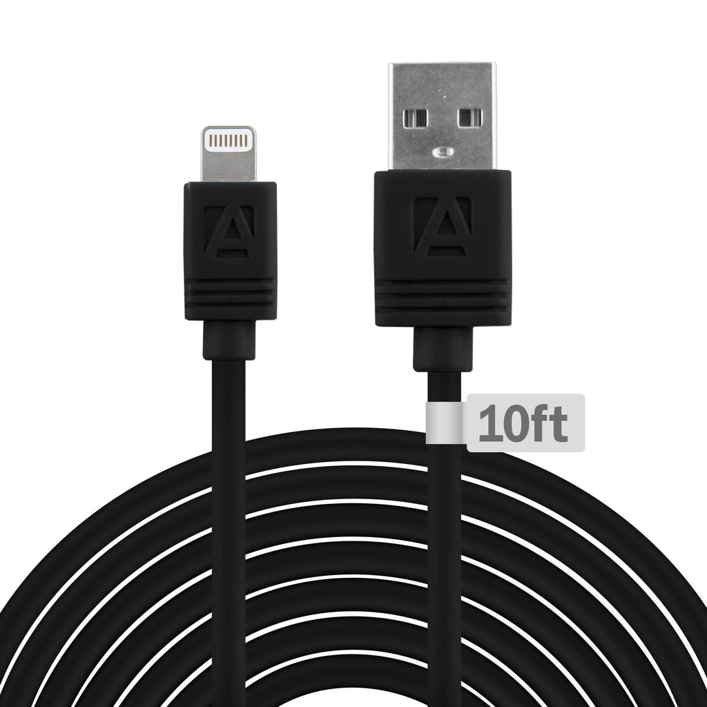 Aduro 10 Ft MFI Lightning Standard Charge & Sync Cable