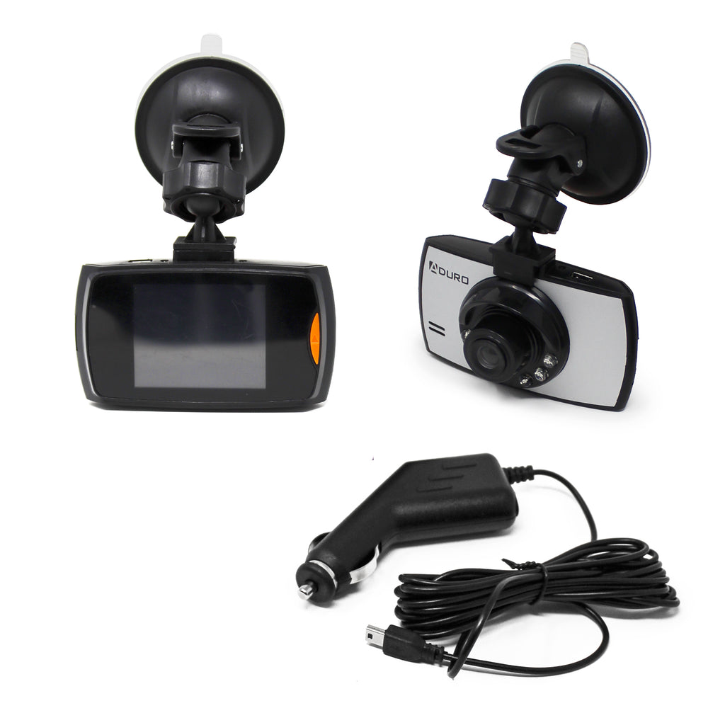 Aduro U-Drive Steel HD DVR Dash Camera