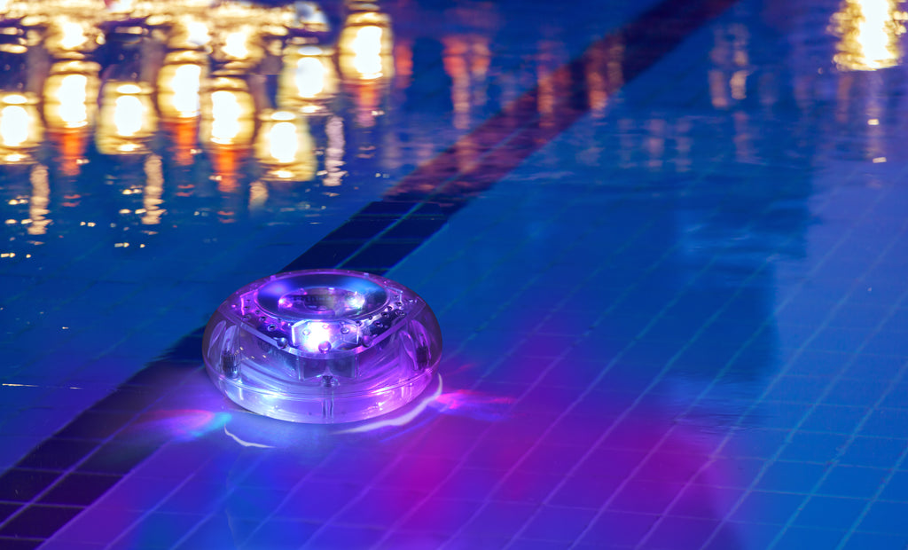 Hearth & Haven Color Changing Floating Waterproof LED Pool Decor Light