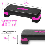 Nicole Miller Aerobic Adjustable Stepper Platform