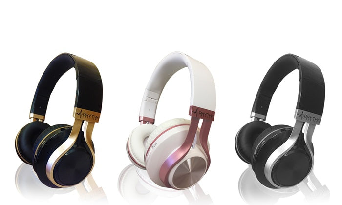 Aduro Resonance Foldable Wireless Bluetooth Headphones Extended Battery Life
