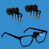 Bright Basics 2 Pack Universal Clip-On LED Glasses Light
