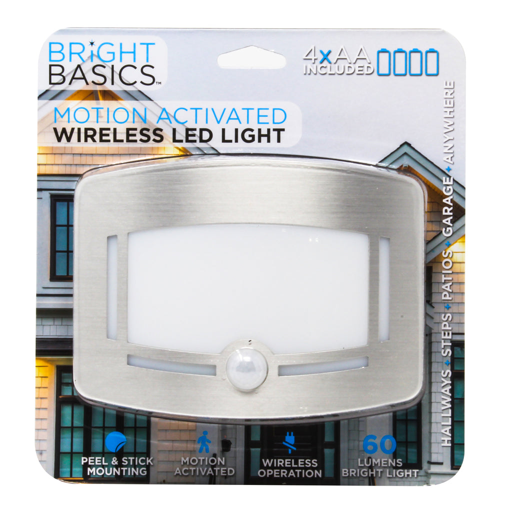 Bright Basics Motion Activated Wireless LED Light