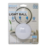 Bright Basics Ultra Bright Portable Wireless Ball Lamp