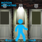 Bright Basics Motion Activated Dual Security Light
