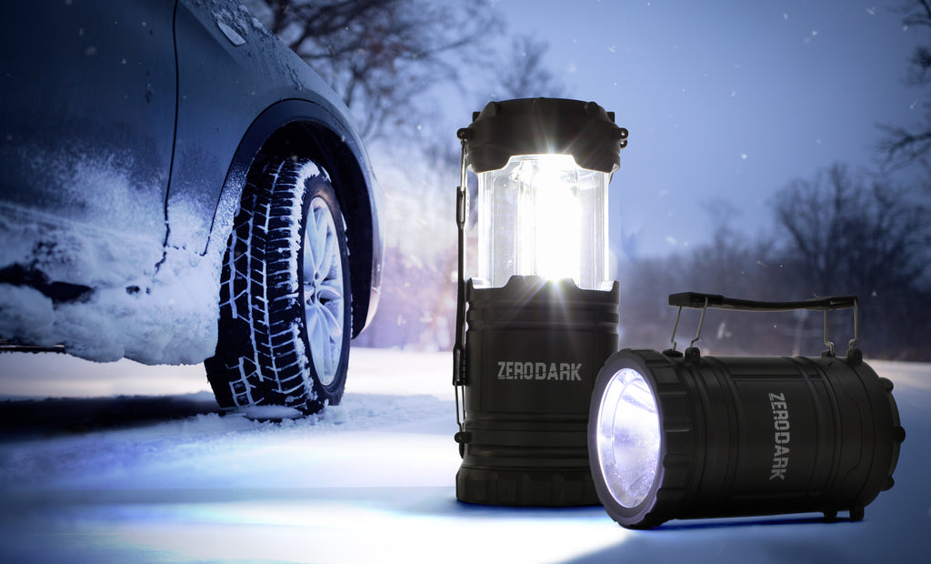 ZeroDark 2 in 1 Collapsible Lantern & Flashlight