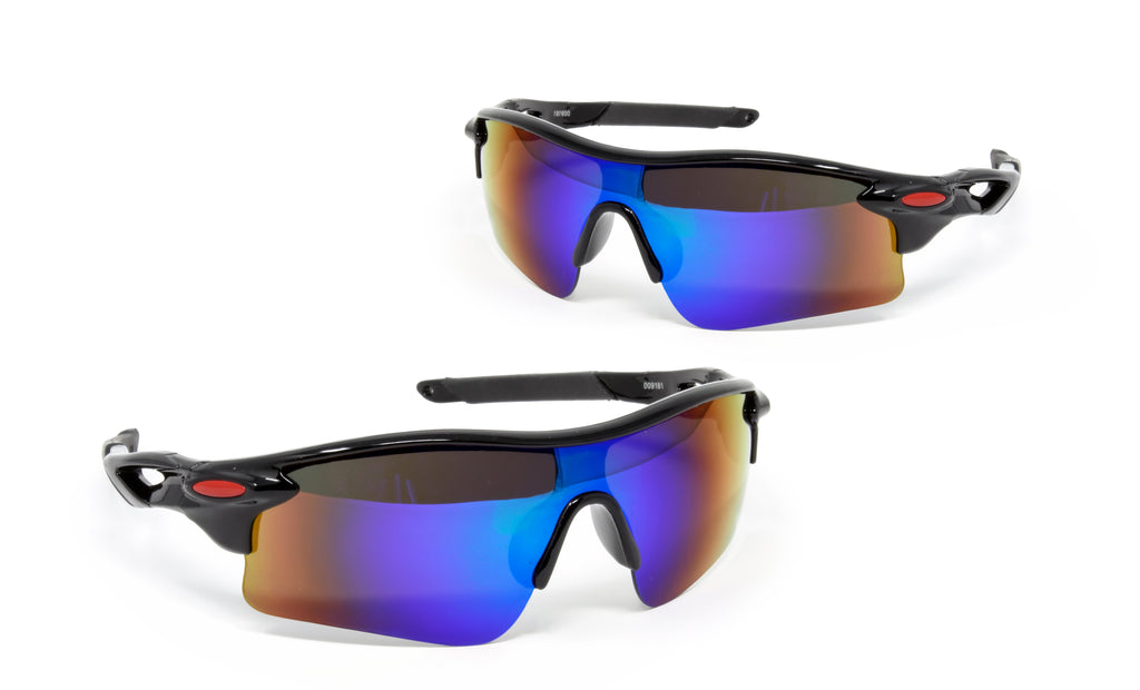 ZeroDark 2 Pack Sport Tactical Polarized Sunglasses Cycling Running Driving Fishing Glasses